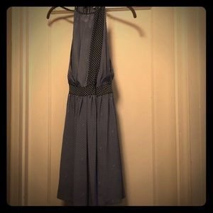 Halter wrap 100% silk dress from juicy couture